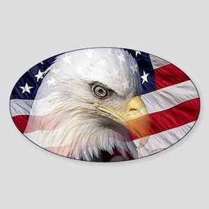 American Pride Sticker (Oval)